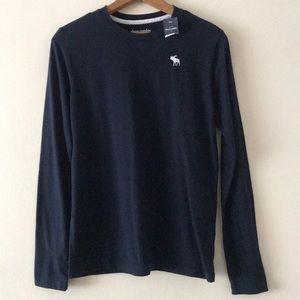 NWT Abercrombie Kids Long Sleeve Shirt Size 15/16